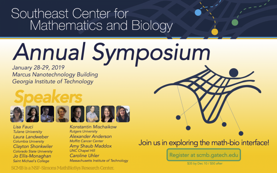 2019 SCMB Annual Symposium Flyer